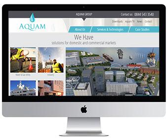 New Aquam Website